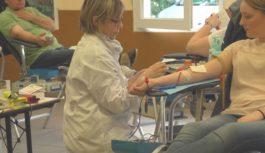 Don du sang à Nogent