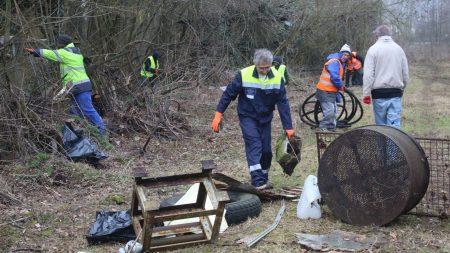 Nettoyage du Marais Monroy