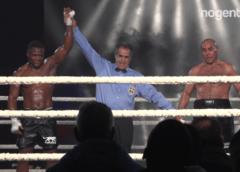 Gala de boxe de l'association Alain Marion