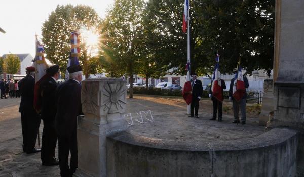 76ème commémoration de la libération de Nogent